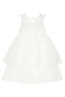 Белое платье с пайетками Balloon and Butterfly