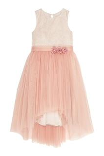 Розовое платье с пышным подолом Balloon and Butterfly