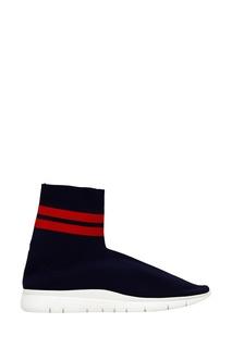 Синие текстильные кроссовки Joshua Sanders