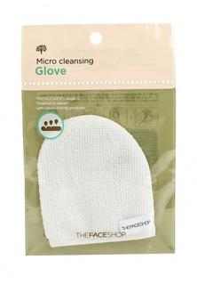 Спонж для очищения лица The Face Shop