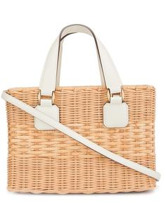 basket tote  Mark Cross