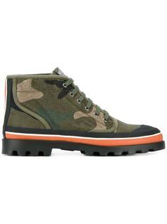 камуфляжные ботинки Valentino
