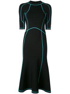 платье со шнуровкой  Alexander Wang