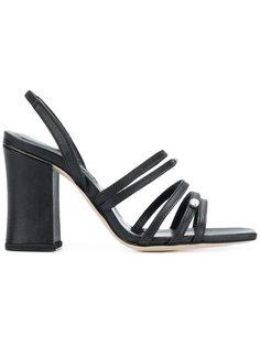 босоножки с ремешками на массивном каблуке Dorateymur