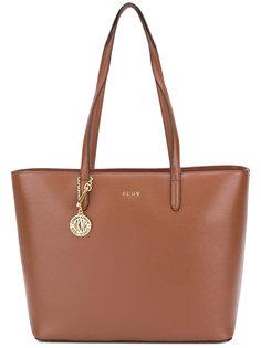 сумка-тоут с логотипом DKNY