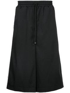 брюки-юбка с полосками  Maison Mihara Yasuhiro