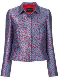 пиджак с принтом Emporio Armani