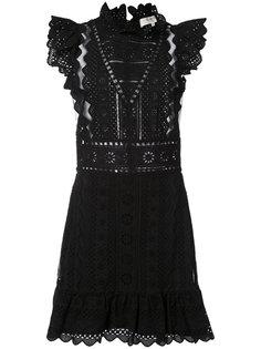 ажурное мини-платье Sea