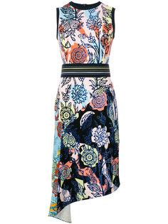 асимметричное платье-футляр  Peter Pilotto