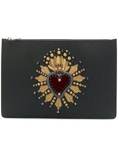 клатч для документов с нашивкой Dolce & Gabbana