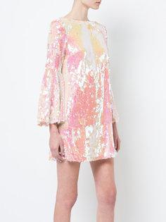 платье в пайетках Giguere с рукавами-колокол Jay Godfrey