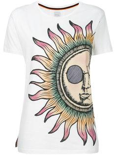 футболка с принтом солнца Paul Smith