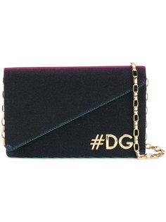 сумка на плечо с логотипом Hashtag Dolce & Gabbana