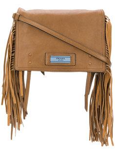 сумка Etiquette с бахромой Prada
