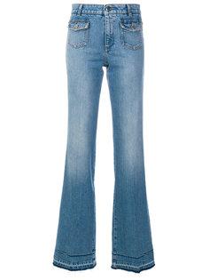 широкие выцветшие джинсы  Stella McCartney