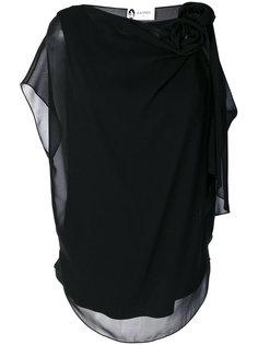блузка с отделкой  Lanvin