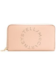 кошелек с перфорированным логотипом  Stella McCartney