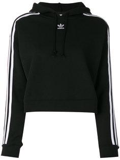 толстовка  с полосками на рукавах Adidas
