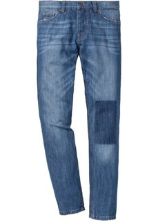 Джинсы Regular Fit Tapered в стиле 5 карманов, длина (в дюймах) 34 (синий) Bonprix
