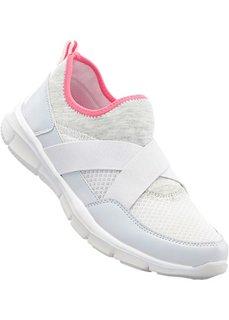 Сникерсы (белый/ярко-розовый) Bonprix