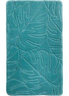 Коврик для ванной Джунгли, пена-мемори (зеленый) Bonprix