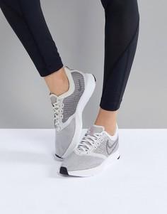 Серые кроссовки Nike Running Air Zoom Strike - Серый