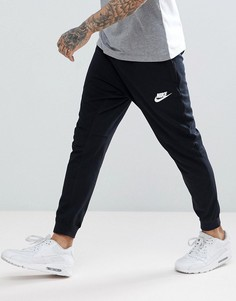 Черные джоггеры с принтом Nike AV15 861746-010 - Черный