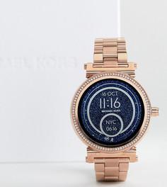 Смарт-часы цвета розового золота Michael Kors Access MKT5022 Sofie - Золотой