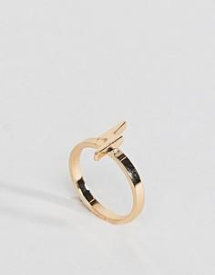 Кольцо на мизинец ASOS - Золотой