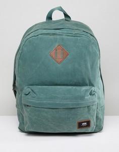 Зеленый рюкзак Vans Old Skool Plus - Зеленый