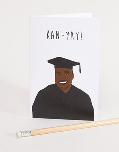 Поздравительная открытка для выпускника с надписью Kan-Yay Nocturnal Paper - Мульти