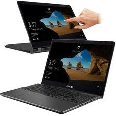 Ноутбук ASUS Zenbook Flip UX561UD-E2026R 90NB0G21-M00330 (Intel Core i7-8550U 1.8 GHz/16384Mb/2000Gb + 256Gb SSD/nVidia GeForce GTX 1050 2048Mb/Wi-Fi/Bluetooth/Cam/15.6/3840x2160/Touchscreen/Windows 10 Pro 64-bit)
