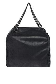Черная сумка с цепочками Falabella Stella Mc Cartney