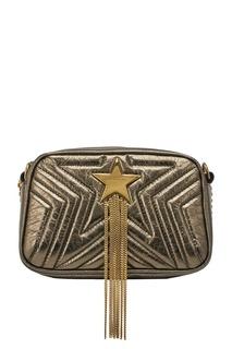 Золотистая сумка Stella Star Mini