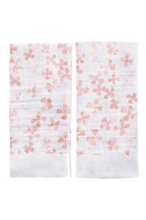 Набор салфеток для лица с цветочным принтом Aden+Anais