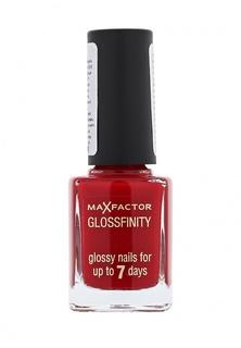 Лак для ногтей Max Factor Glossfinity 110 тон red passion