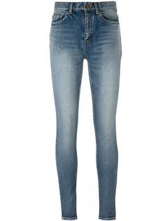 классические джинсы скини Saint Laurent