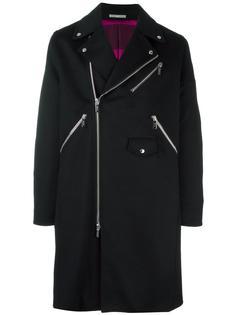 двубортное пальто Dior Homme