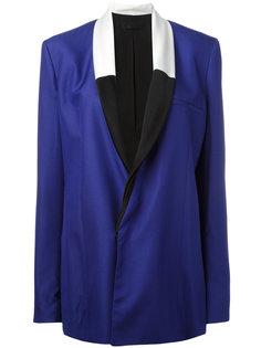пиджак с контрастными лацканами Haider Ackermann