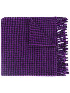 шарф с узором в ломаную клетку Ami Alexandre Mattiussi