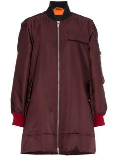 длинная куртка-бомбер на молнии  Calvin Klein 205W39nyc