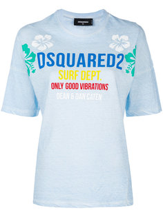 surf school T-shirt Dsquared2