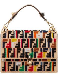 сумка на плечо с логотипом Kan I Fendi