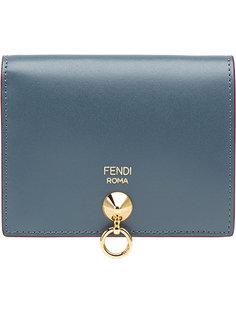 маленький кошелек с тисненым логотипом Fendi