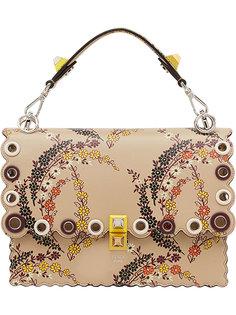 сумка на плечо Kan I с цветочным принтом Fendi