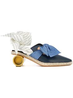 туфли на цилиндрическом каблуке JW Anderson