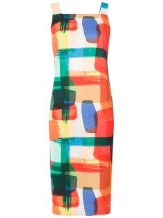 прямое платье с принтом Mara Mac