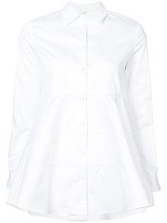 блузка с расклешенным подолом Co