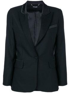 однобортный пиджак Styland