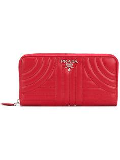 стеганый кошелек Prada